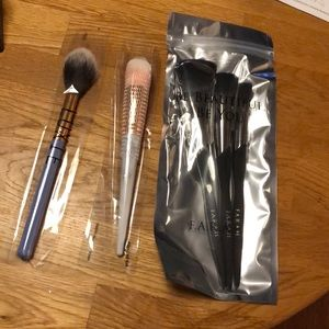 5 Brushes F.A.R.A.H. midnight pro trio 160F LUXIE
